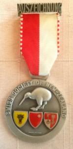 Society Sports Medal